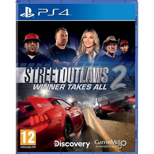 Street Outlaws 2 Winner Takes All PS4 Game